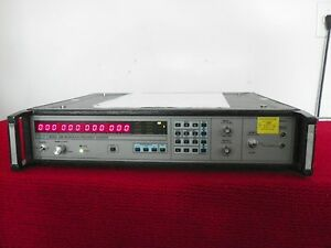 Eip 548b Microwave Frequency Counter 10hz 26 5ghz W opt 05 06 08 Exp Nist