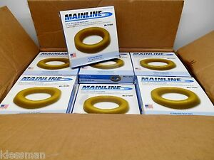 Case Of 48 Mainline Ml11580 Standard Wax Ring Fits 3 Or 4 Floor Waste Line