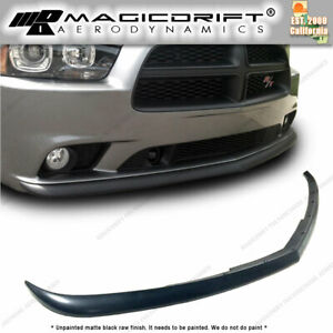 Fits 11 14 Dodge Charger Sedan Front Bumper Lip Chin Spoiler Oe Style Rt Sxt