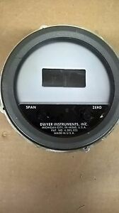 Dwyer 603a s lcd Differential Pressure Transmitter