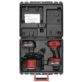 Chicago Pneumatic 8828k Pneumatic Compact 3 8 Cordless Impact Wrench Pack