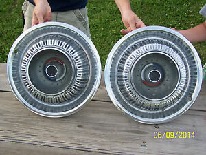 1960 75 Mopar Plymouth Dodge Chrysler Sport Fury 15 Inch Hubcaps Valiant Duster