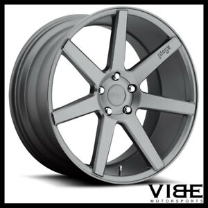 20 Niche Verona Gunmetal Concave Wheels Rims Fits Ford Mustang Shelby Gt Gt500