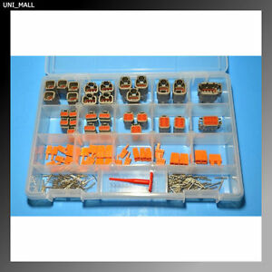 181 Pcs Deutsch Dtm Genuine Connector Kit Removal Tools Made In Usa