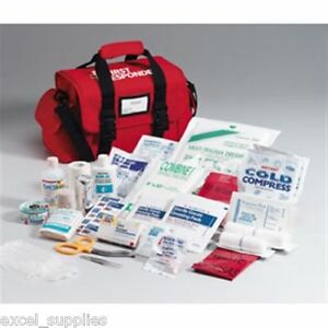 520frac Large Emergency Ems Emt First Responder Kit Trauma First Aid Cpr 158