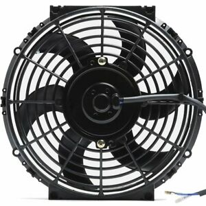 10 Inch Electric Fan Auto Radiator Cooling Best Performance Cfm Universal Fit