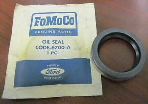 1960 69 Nos Ford Mercury 6 Cylinder Engine Timing Cover Oil Seal