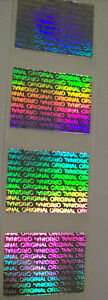 1000 Original Hologram Warranty Void Tamper Evident Security Label Sticker Seals