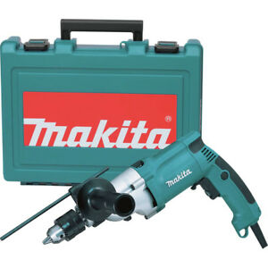Makita 3 4 In Variable speed Hammer Drill W Case Hp2050r Certified Refurbished