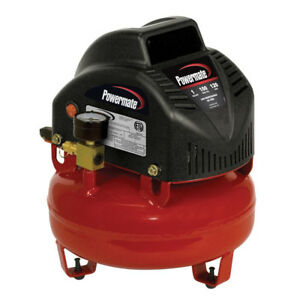 Powermate Vnp000010101 1 Gallon Lightweight And Compact Mini Air Compressor New