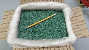 Plastic Pellets Glass Filled Nylon Green Color 22 Lbs Rifle Sighting Bags