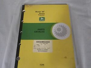 John Deere Parts Catalog Pc 848 Tractor Models M