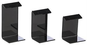 Lot Of 12 Black Earring Display Stand Holder Set Of 3