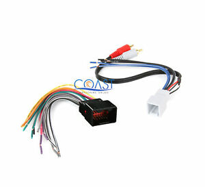 Aftermarket Radio Stereo Wiring Harness Plug For 1998 Up Ford Lincoln Mercury