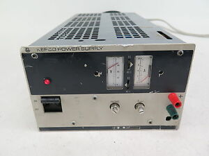 Kepco Dc Power Supply Jqe 36 8 0 36 Volts 0 8 Amps