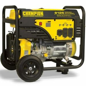 Champion Victory 100109 6500 Watt Portable Generator