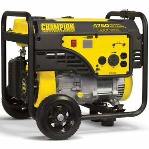 Champion Victory 100103 3800 Watt Portable Generator W Rv Outlet