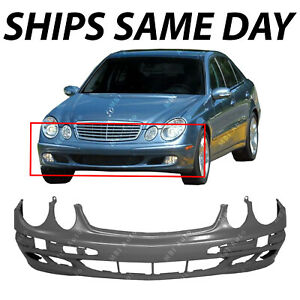 New Primered Front Bumper Cover Replacement For 2003 2006 Mercedes E320 350 500