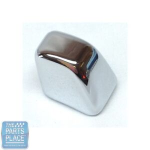 1967 72 Gm Car Bench Or Bucket Seat Back Release Button Knob Chrome Each
