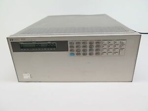 Hp 6050a System Dc Electronic Load W 2 Hp 60503b