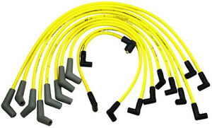 Ford Racing 9mm Yellow Ignition Wire Set 5 8l 5 0l 351w 302 New Spark Plug Wires
