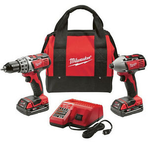 Milwaukee M18 18V Li-Ion 2-Tool Combo Kit 2691-22 RECON
