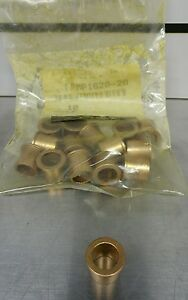lot Of 15 Oilite Bronze Bushing 20mm X 16mm X 20mm Ffmp1620 20 5090 8104