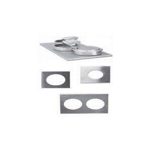 Nemco Adapter Plate For 4 3 size Warmer Size 4 Holes Each For 4 qt Inset