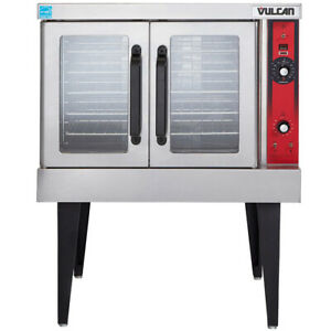 Vulcan Vc4gd Single Deck Nat Gas Convection Oven Solid State Controls