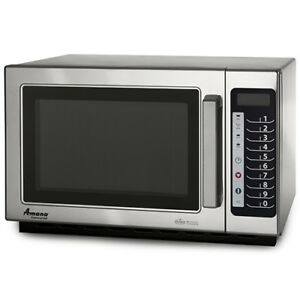 Amana Rcs10ts Commercial Microwave Oven