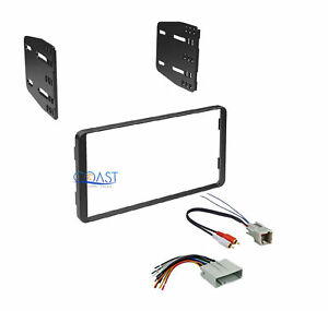 Car Stereo Radio Double Din Dash Kit W Harness For 2004 2007 Ford Escape