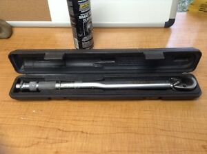 Napa Evercraft 1 2 Drive Torque Wrench In Case