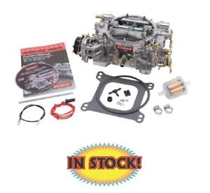 Edelbrock 1406 Performer Carburetor 600 Cfm Electric Choke Satin