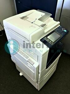 Xerox Workcentre 7225 Printer Low Meter W 218k Copies