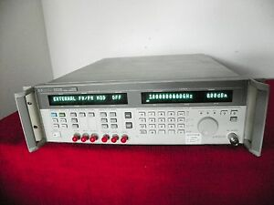 Agilent Hp 83731b Synthesized Signal Generator With Expired Nist