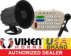 Loud 46 Sounds Animal music siren effect pa System Electronic Horn Car Truck 12v