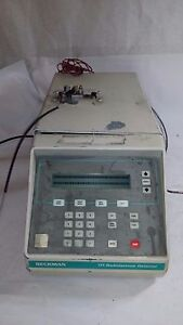 Beckman 171 System Gold Radioisotope Detector Untested