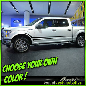 2007 2008 2013 2014 2015 Ford F150 F 150 F 250 F 350 Hd Side Stripes 2