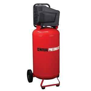 26 Gallon 1 8 Hp 150 Psi Oilless Air Compressor New Large Powerful Runs Longer