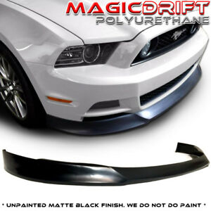 13 14 Ford Mustang Street St Style Urethane Front Bumper Chin Lip Spoiler V6