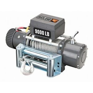 9000 Lb Electric Recovery Winch Jeep Truck Loading Towing Off Road Brake