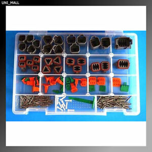 191 Pcs Deutsch Dt Genuine Connectors Kit 14 16awg Solid Contacts Made In Usa