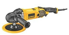 Dewalt Dwp849x 7 In 9 In Variable Speed Polisher With Soft Start
