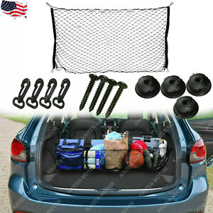 Nylon Mesh Net Car Trunk Cargo Storage Plus Envelope Style For Ford Mustang