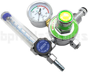 New Argon Co2 Gas Mig Tig Flow Meter Welding Regulator Gauge Welder Cga580 Fits