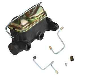 1964 66 Ford Mustang Dual Reservoir Master Cylinder W Brake Lines Easy Install