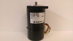 New Old Stock Oriental Motor Reversible Motor 100v 50 60hz Pb206 201