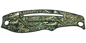 New Realtree Max 5 Camo Camouflage Dash Mat Cover For 1995 11 Ford Ranger
