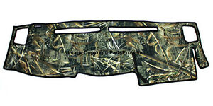 New Realtree Max 5 Camo Camouflage Dash Mat Cover For 2005 14 Frontier Truck