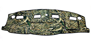New Realtree Max 5 Camo Camouflage Dash Mat Cover For 2006 08 Dodge Ram Truck